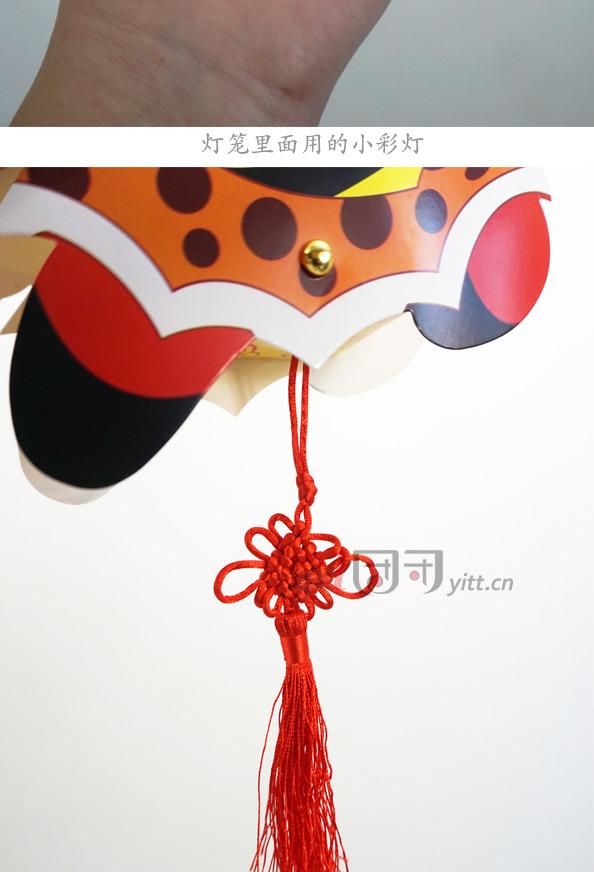 春节新年卡通diy灯笼手工制作传统纸质猴子萌萌猪diy